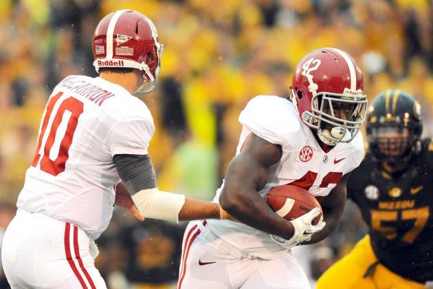 Alabama vs. Missouri: Live Scores, Analysis and Results