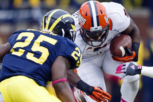 Illinois vs. Michigan: True Test for Improved Wolverine Defense Still to Come