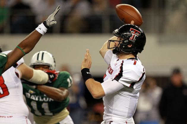 Seth Doege: Texas Tech QB Lights Up West Virginia with 6 TDs in Win