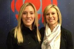 Tessa Bonhomme and Meghan Agosta on the Cover of 'The Hockey News'