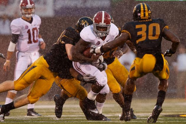 Alabama Football: Why Crimson Tide Run Game Will Lead Them to BCS Title