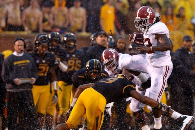 No. 1 Alabama 42, Missouri 10