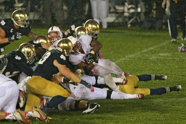 Notre Dame vs. Stanford: Why Fighting Irish Deserved Call After Goal-Line Stand