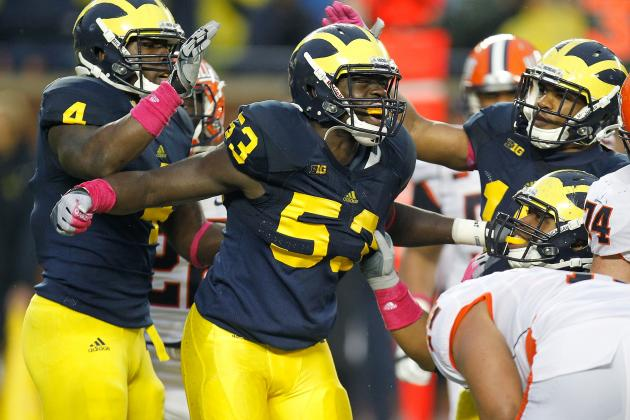 Illinois at Michigan: Wolverines Stake Claim as the 'Big Brother' with 45-0 Win