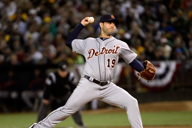 Anibal Sanchez Looking Forward to Pitching in Front of Parents in Game 2