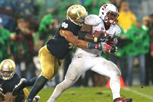 Stanford vs. Notre Dame: In the End, Irish Defense Saves BCS Hopes
