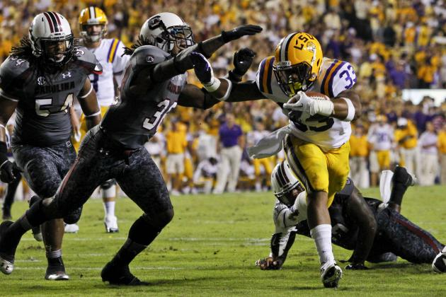 South Carolina vs. LSU: Why Have Tigers Been Hiding Jeremy Hill?