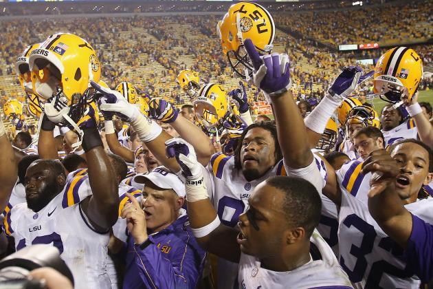 South Carolina vs. LSU: Ugly Game Affirms Alabama's SEC Dominance