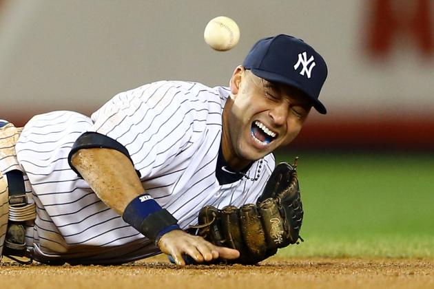 Derek Jeter Out for Season With Fractured Ankle