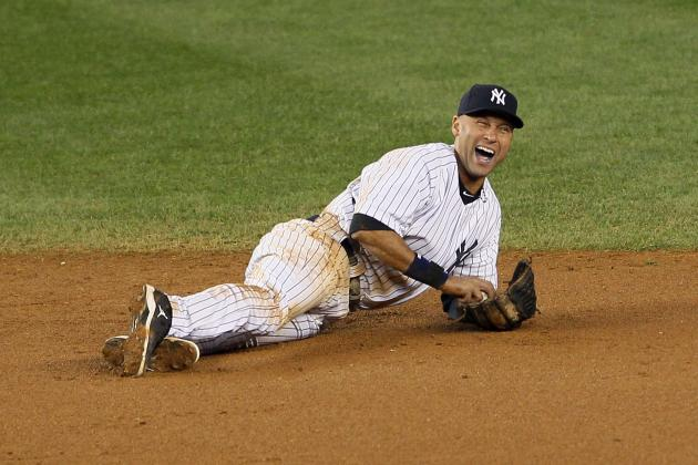 New York Yankees' Derek Jeter Fractures Ankle, Will Miss Postseason