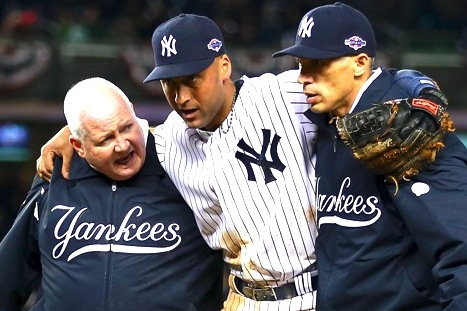 Derek Jeter Injury: How His Loss Affects Yankees' Chances in 2012 ALCS