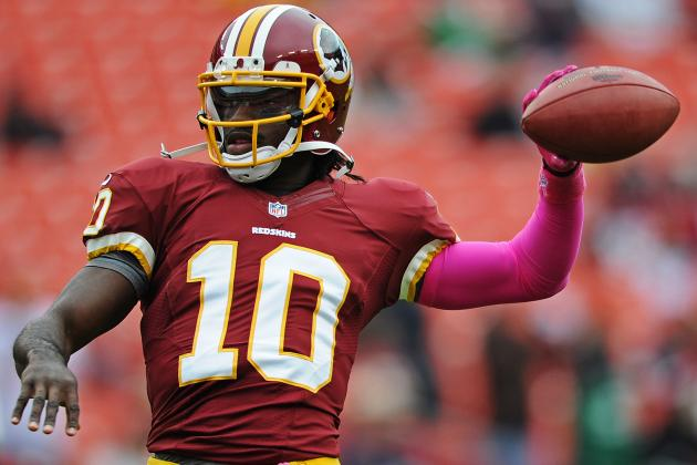 Robert Griffin III Injury: Updates on Redskins QB's Status and Fantasy Value