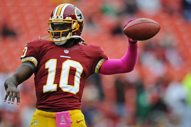 Robert Griffin III Injury: Projecting Banged-Up Redskins QB's Output vs. Vikings