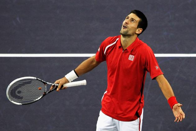 Novak Djokovic Defeats Andy Murray to Win Shanghai Masters 2012 Tournament