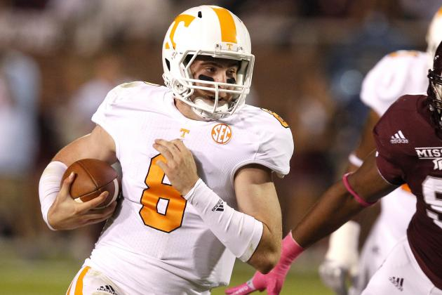 Tennessee QB Tyler Bray: 'We Got Some Bandwagon Fans'