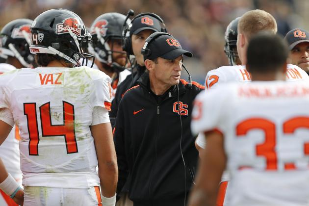 Oregon State vs. BYU: Win Against Cougars Won't Lead Beavers to Pac-12 Title