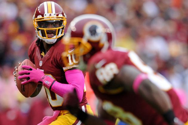Robert Griffin III: Injured QB Should Start for Your Fantasy Squad vs Vikings