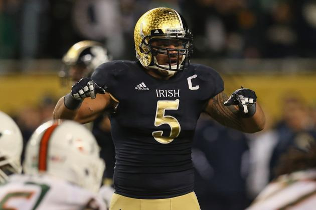 Notre Dame Football: Breaking Down Heisman Candidacy of Manti Te'o