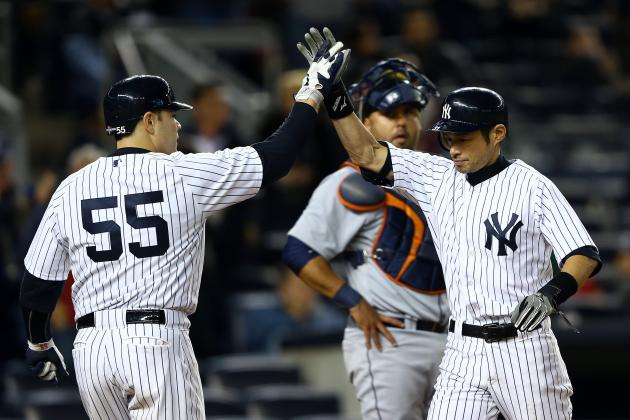 New York Yankees Batting Order: Expected Game 2 Lineup for ALCS