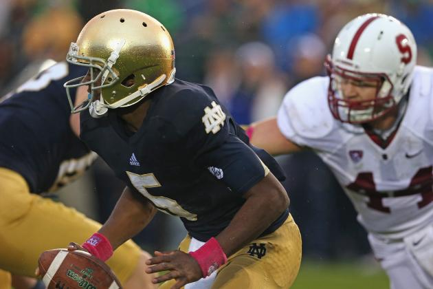 Everett Golson Injury: Updates on Notre Dame QB's Head