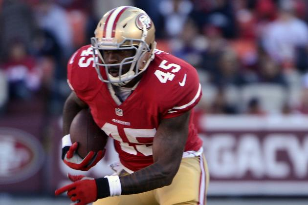 Brandon Jacobs Inactive Today vs. Giants