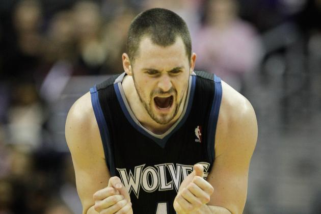 Kevin Love's Past the Wolves Not Giving Him the Max Extension
