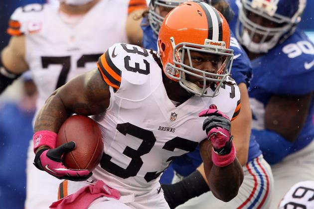Trent Richardson Injury: Updates on Browns RB's Abdomen Injury