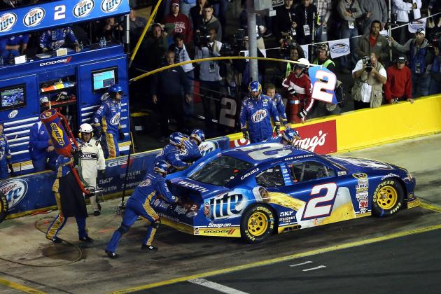 Bank of America 500 2012: Fuel Mileage Costs Sprint Cup Contenders in Charlotte