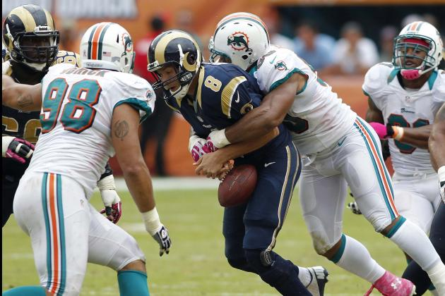 St. Louis Rams vs Miami Dolphins: Olivier Vernon Catapults Miami to a 17-14 Win
