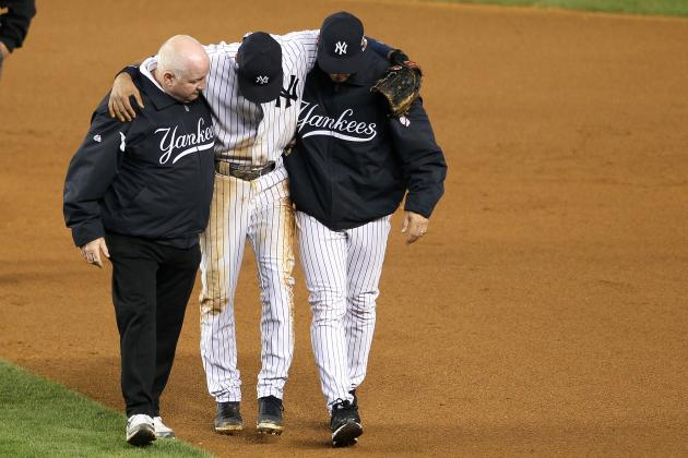 Will Broken Ankle Cost Derek Jeter Chance to Beat Pete Rose's Hits Record?