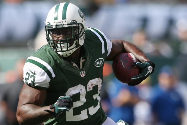 Shonn Greene's Three Touchdowns Get Jets Back into Win Column