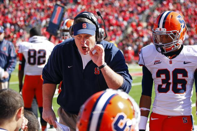 Doug Marrone: Syracuse Football Has to Put Loss 'to Bed' and Move on