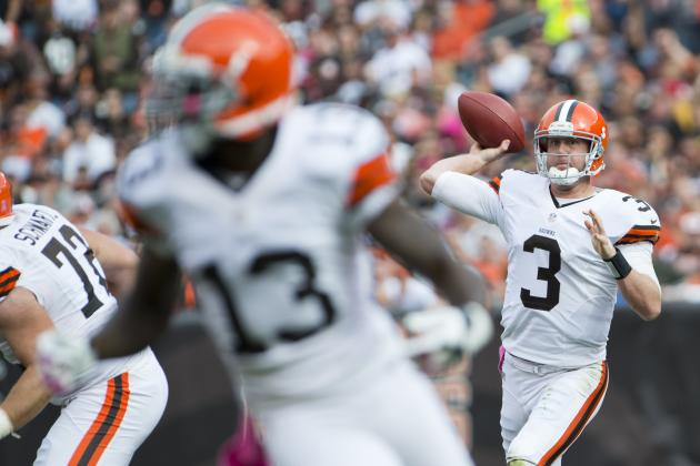 Bengals vs. Browns: Cleveland Gives a Birthday Present to Brandon Weeden—A Win