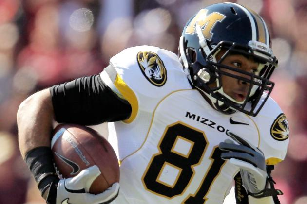 Mizzou TE Checks out Fine After Being Carted off the Field