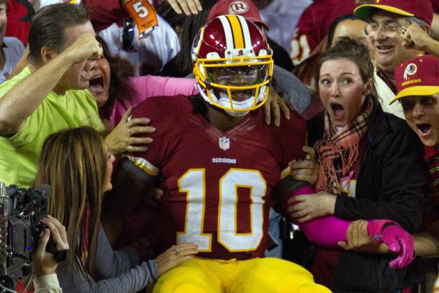 Vikings vs. Redskins: With RG3, Washington Has a Chance to Compete Right Now