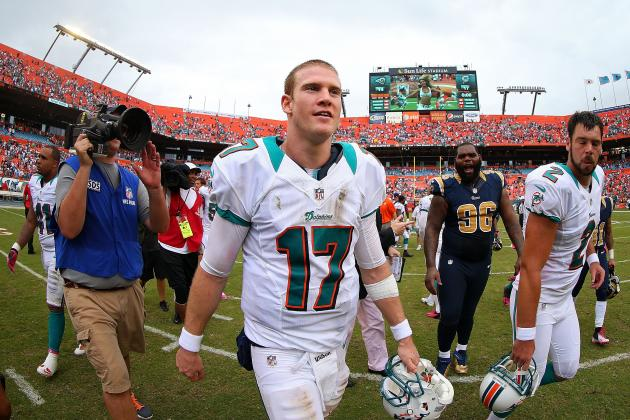 Rams vs. Dolphins: Ryan Tannehill Proves Miami Doesn't Need to Rely on the Run