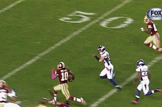 RGIII Breaks 76-Yard Rushing TD