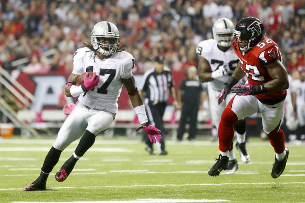 Raiders vs. Falcons: Oakland's Mistakes Overshadow Effort in 23-20 Loss