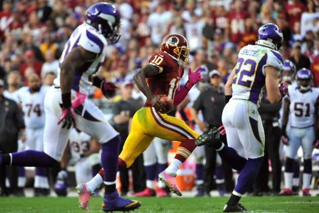 Vikings vs Redskins: Defense Has No Answers for Griffin III in Loss