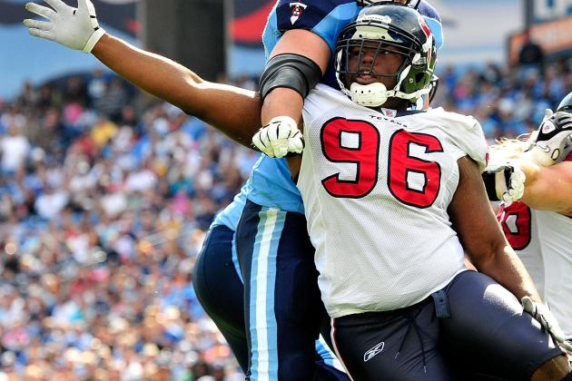 Texans DE Tim Jamison out with Achilles Injury