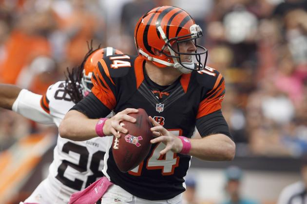 Bengals vs. Browns: Sloppy Play from Andy Dalton Dooms Cincinnati Again