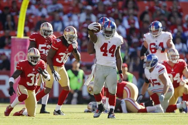 Giants vs. 49ers: San Francisco Got Dominated in the Trenches in 26-3 Loss