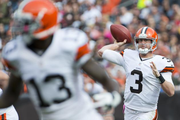 Brandon Weeden Is the Answer for Cleveland Browns' Woes at QB
