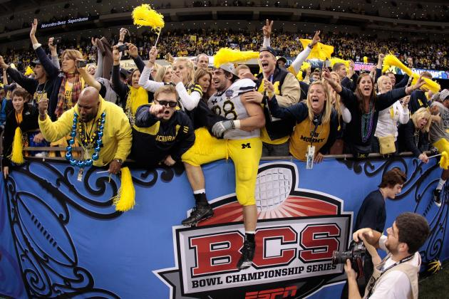 Michigan Football: Wolverines, Entire Big Ten Missing from BCS Standings