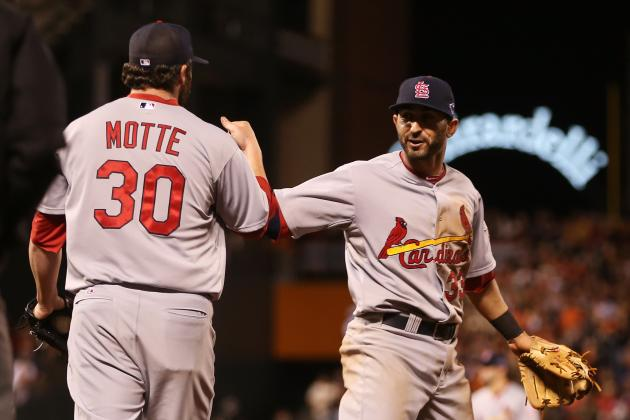 2012 MLB Playoffs: St. Louis Uses 4-Run Inning and Bullpen to Take 1-0 NLCS Lead