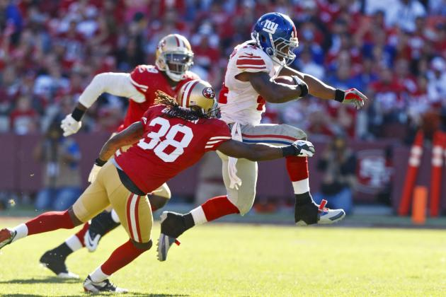 Giants Don't Just Beat 49ers at Their Own Game, They Dominate at It