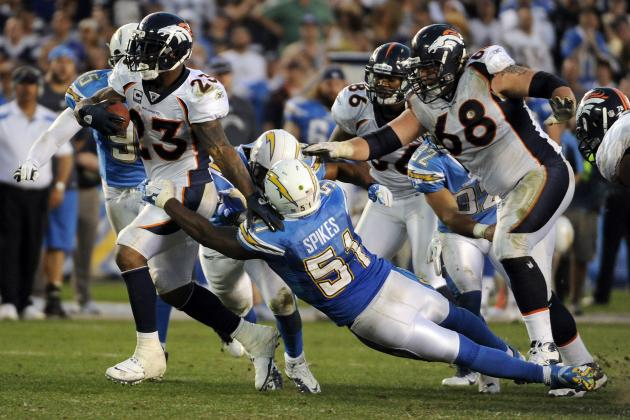 Denver Broncos vs. San Diego Chargers: Live Score, Highlights and Analysis