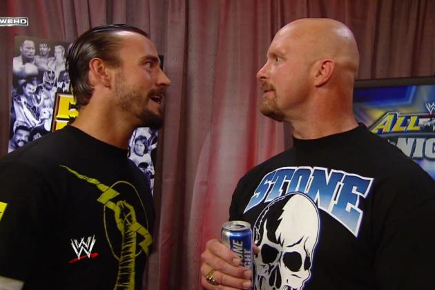 WWE WrestleMania: Could CM Punk vs. Stone Cold Steve Austin Actually Happen?