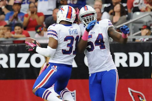 Bills vs. Cardinals: Jairus Byrd INT, Missed FG May Have Saved Chan Gailey's Job