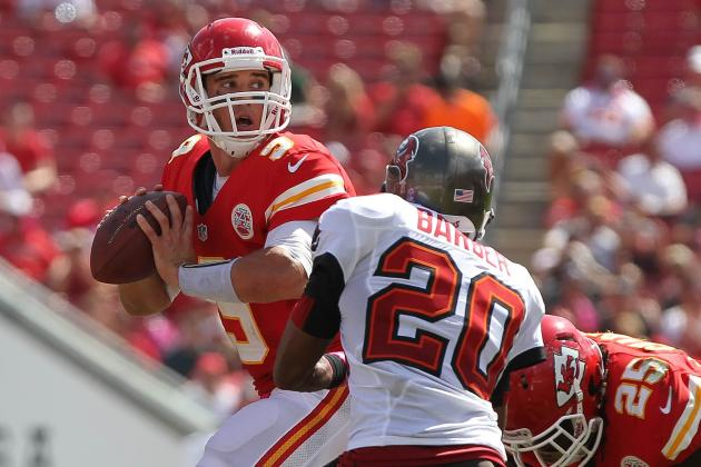 Chiefs vs. Bucs: Quinn's Debut a Dud, Kansas City Pounded in 38-10 Loss
